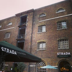 Photo taken at Strada by Lillian K. on 7/18/2014