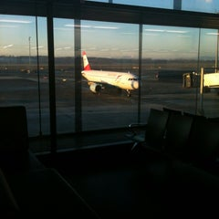 Photo taken at Gate F04 by Zoran J. on 12/13/2012
