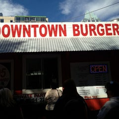 Photo taken at Down Town Burgers by Don J. on 2/5/2013