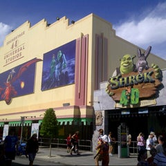 Photo taken at Shrek 4-D by Matt T. on 10/7/2012