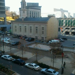 Photo taken at DoubleTree by Hilton Hotel Nashville Downtown by Tiffany C. on 11/28/2012