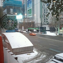 Photo taken at Starbucks by melon k. on 1/1/2013