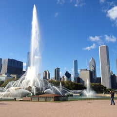 Photo taken at Grant Park by Gabriel G. on 9/22/2012