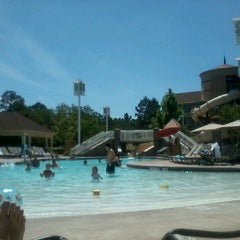 Photo taken at Disney's Saratoga Springs Resort & Spa by Claire D. on 5/15/2013