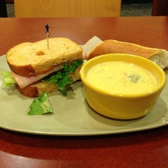 Photo taken at Panera Bread by Jena N. on 11/17/2013