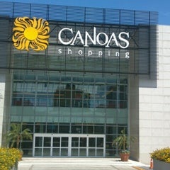 Photo taken at Canoas Shopping by Thiago S. on 12/31/2012