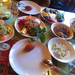 Photo taken at Kırkayak Antep Evi by Mehlika on 3/17/2013