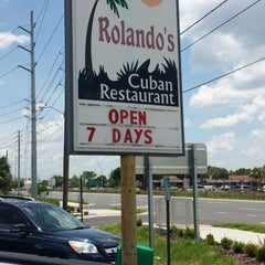 Photo taken at Rolando's Cuban Restaurant by Clinton™ on 6/28/2014