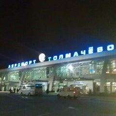 Photo taken at Международный аэропорт Толмачёво / Tolmachevo International Airport (OVB) by Olga S. on 9/9/2013