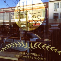 Photo taken at Sightglass Coffee by Revolt on 4/18/2013
