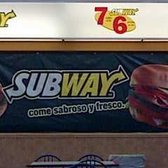 Photo taken at Subway by Julio S. on 7/19/2013