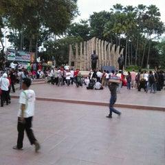 Photo taken at Tugu Proklamasi (Proclamation Monument) by Maz P. on 7/11/2014