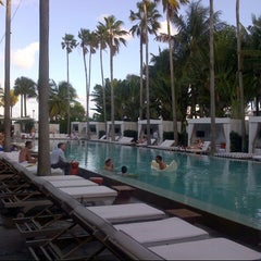 Photo taken at Delano South Beach by @SkinnynSatisfied on 12/1/2012