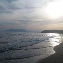 Photo taken at Playa Rincón de la Victoria by Soluntic C. on 4/12/2013