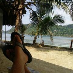Photo taken at Isla Grande Colon by Robin C. on 9/22/2015