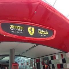 Photo taken at Ferrari World Abu Dhabi by Jane W. on 3/16/2013