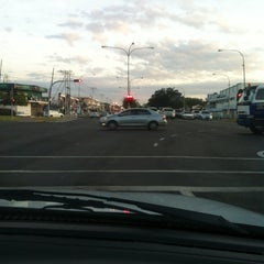 Photo taken at Traffic Light Lido Intersection by Geno L. on 8/7/2014