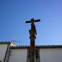 Photo taken at Cruz de San Pedro by Santi L. on 5/22/2011
