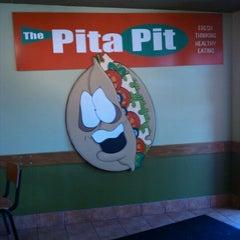 Photo taken at Pita Pit BG by Chad B. on 5/17/2012