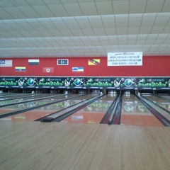 Photo taken at Mega Lanes by aben s. on 3/24/2013