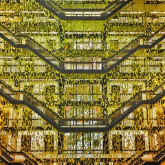 Photo taken at NYU Bobst Library by Matt on 10/23/2013