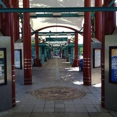 Photo taken at Northgate Transit Center by Bradley A. E. on 5/24/2013