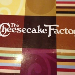 Photo taken at The Cheesecake Factory by Bridget W. on 10/16/2012