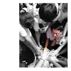 Photo taken at SMA Pangudi Luhur Van Lith by Yosef Y. on 1/26/2014
