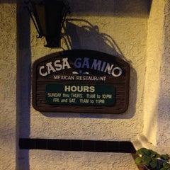 Photo taken at Casa Gamino by HorsingaroundInLA on 12/25/2012