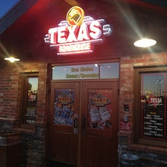 Photo taken at Texas Roadhouse by Adrian S. on 2/12/2013