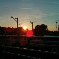 Photo taken at Metrostation Diemen-Zuid by Luc L. on 5/16/2014