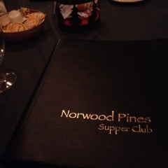 Photo taken at Norwood Pines Supper Club by Paige S. on 9/30/2012