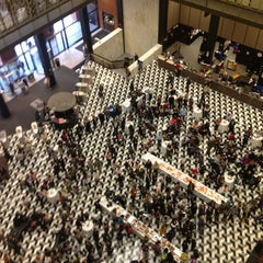 Photo taken at NYU Bobst Library by Like. N. on 10/19/2013
