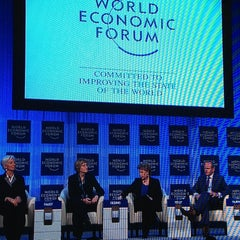 Photo taken at World Economic Forum (WEF) by Brandon K. on 1/25/2013