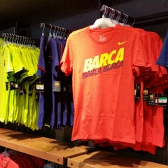 Photo taken at FCBotiga Official Store by Ger A. on 3/19/2015