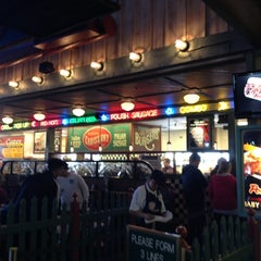 Photo taken at Portillo's by Christine M. on 10/20/2012