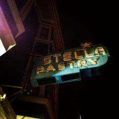 Photo taken at Stella Pastry and Cafe by Noey G. on 12/5/2012