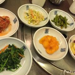 Photo taken at Auntie Kim's Korean Restaurant by Alan T. on 2/11/2015