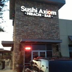 Photo taken at Sushi Axiom by Patrique Z. on 8/18/2013