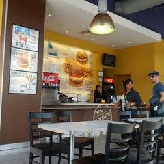 Photo taken at Hero Certified Burgers by Nofel on 9/22/2012