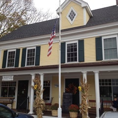 Photo taken at Marshfield Hills General Store by Christine K. on 10/25/2013