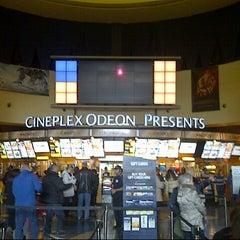 Photo taken at Cineplex Odeon Queensway Cinemas by Christine K. on 3/3/2013