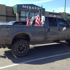 Photo taken at Menards by Andrew R. on 3/14/2015