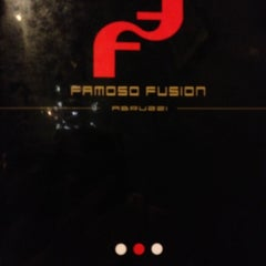 Photo taken at Famoso Fusion by Paola M. on 9/29/2012