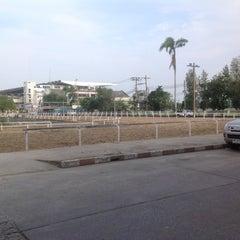 Photo taken at สระว่ายน้ำราชตฤณมัย by JDar N. on 10/7/2012