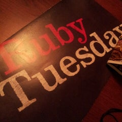 Photo taken at Ruby Tuesday by angela l. on 8/22/2013