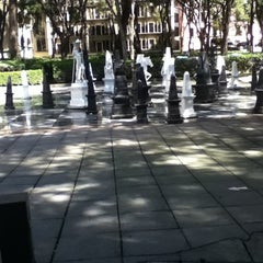 Photo taken at Ajedrez Cervantino by Victor Manuel V. on 10/22/2011