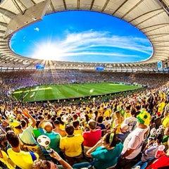 Photo taken at Estádio Jornalista Mário Filho (Maracanã) by RodrigoRomano . on 6/30/2013