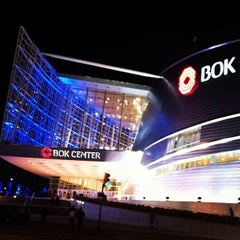 Photo taken at BOK Center by Fred P. on 2/17/2013