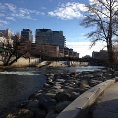 Photo taken at Truckee River by Lara P. on 2/3/2013